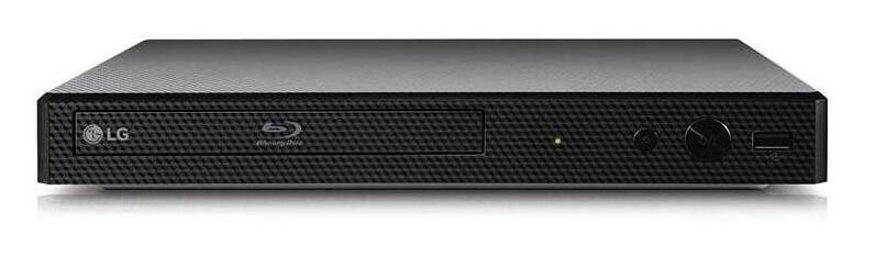 Blu-ray Disc Player with Streaming Services and Built-in Wi-Fi(R)