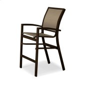 Kendall Sling Balcony Height Stacking Cafe Chair