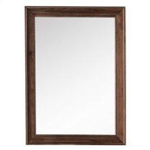 "Bristol 29"" Rectangular Mirror, Mid Century Walnut"