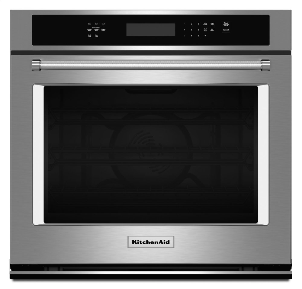 """30"""" Single Wall Oven with Even-Heat™ True Convection - Stainless Steel Photo #1"""