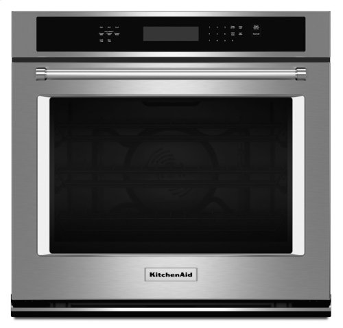 """30"""" Single Wall Oven with Even-Heat True Convection - Stainless Steel"""