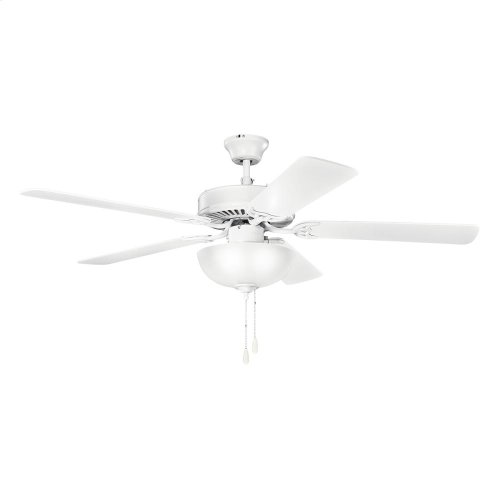 "52"" Basics Select Collection 52"" Basics Select Ceiling Fan MWH"