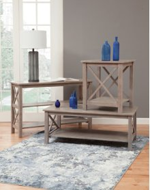 Hampton Occasional Tables Weathered Grey