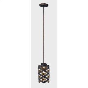 Weave LED 1-Light Mini Pendant