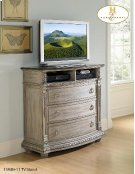 TV Chest, Marble Top Product Image