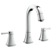 "Grandera 8"" Widespread Two-Handle Bathroom Faucet M-Size"
