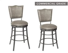 "Sari Swivel Counter Stool 23""x19""x40.5"""