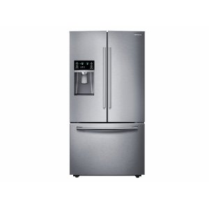 Samsung 鸭博娱乐s28 cu. ft. French Door Refrigerator with CoolSelect Pantry™ in Stainless Steel