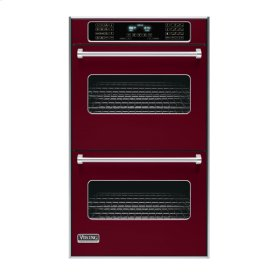 "Burgundy 30"" Double Electric Touch Control Premiere Oven - VEDO (30"" Wide Double Electric Touch Control Premiere Oven)"