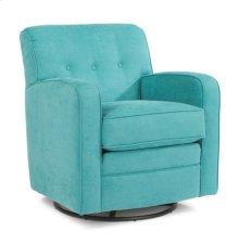Lavender Fabric Swivel Chair
