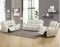 "Laurel Pwr-Pwr Sofa, Ivory 86""x40""x40"" Product Image"