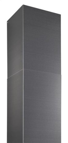 Optional Black Stainless Steel flue extension for 10 -11 ceiling application (Ducted)