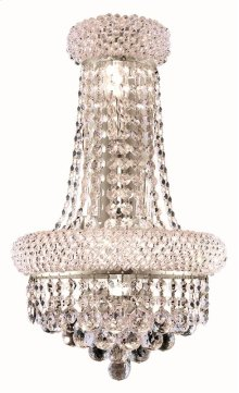 1800 Primo Collection Wall Sconce with Neck Chrome Finish