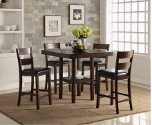 CROMWELL 5 PIECE COUNTER DINING SET