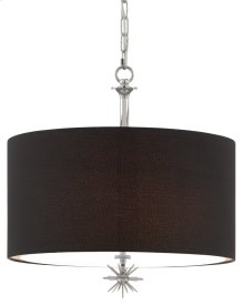 Chancery Black Pendant