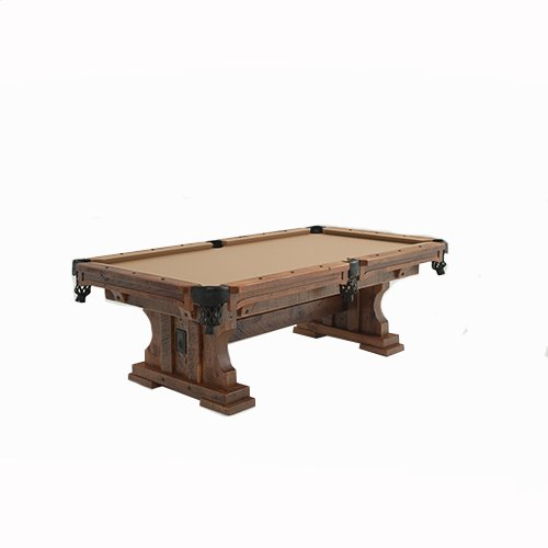 Peachy Timber Frame Trestle Pool Table Beutiful Home Inspiration Xortanetmahrainfo