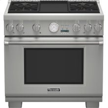 "36"" Professional Series Pro Grand Commercial Depth All Gas Range PRG364JDG"