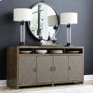 Western Brown Compass Entertainment Console Product Image