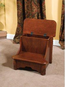 """Woodbury Mahogany"" Bed Steps with Storage"