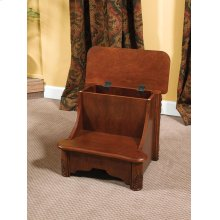 """Woodbury Mahogany"" Bed Steps with Storage"