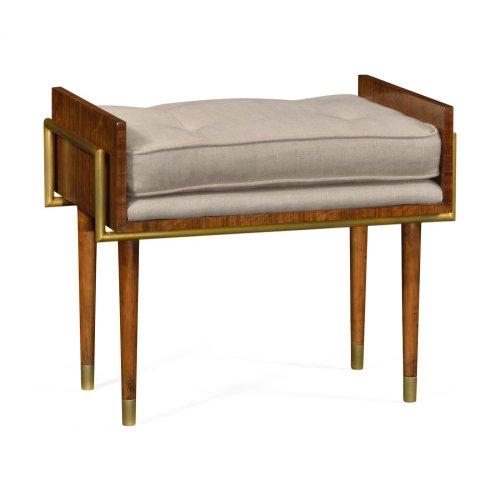 Cosmo Hyedua Stool, Upholstered in MAZO