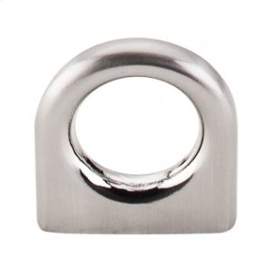 Ring Pull 5/8 Inch (c-c) - Brushed Satin Nickel