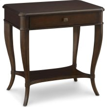Ludwig Bedside Table (Castile)