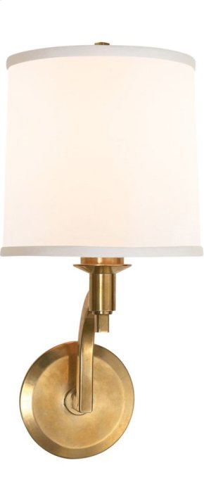 Visual Comfort BBL2023SB-S Barbara Barry Westport 1 Light 8 inch Soft Brass Decorative Wall Light
