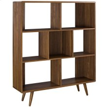 Transmit Bookcase in Walnut