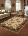 LIVING TREASURES LI04 IBK ROUND RUG 5'10'' x 5'10''