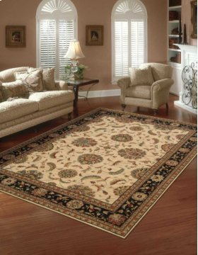 LIVING TREASURES LI04 IBK RECTANGLE RUG 3'6'' x 5'6''