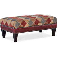 Bradington Young Rects Rectangle Ottoman 804-REC Product Image