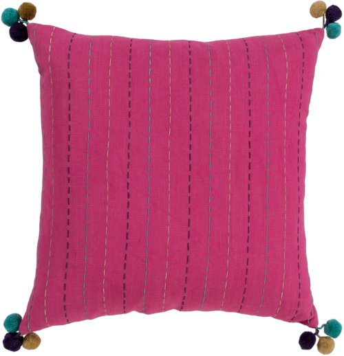 "Dhaka DH-001 20"" x 20"" Pillow Shell with Polyester Insert"