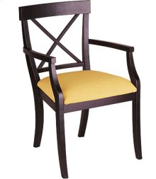 La Croix Arm Chair w/ Fabric Seat