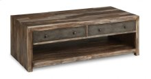 Fulton Rectangular Coffee Table with Casters