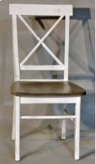 "#594 X Back Chair 18""wx19""dx37.5""h Product Image"