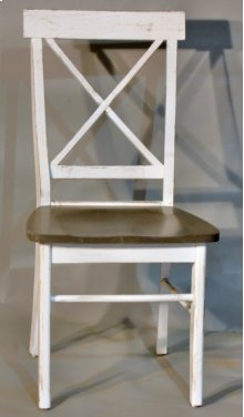 """#594 X Back Chair 18""""wx19""""dx37.5""""h"""