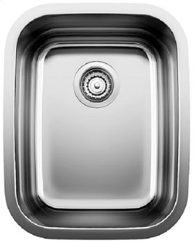 Blancosupreme Single Bowl (bowl Depth 8'') - Satin Polished Finish