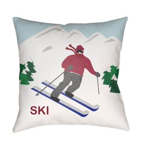 "Ski I SKI-001 20"" x 20"""
