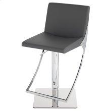Swing Adjustable Stool  Grey