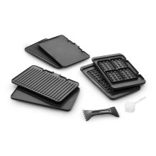 Livenza Digital All-Day Grill with Waffle Plates - CGH1030D