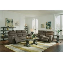 Brooklyn Gliding Reclining Loveseat with Console