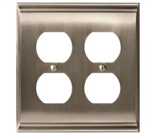Candler 2 Receptacle Wall Plate