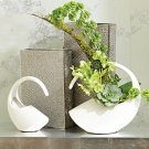 Cleopatra Vase-Matte White-Lg Product Image