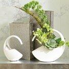 Cleopatra Vase-Matte White-Sm Product Image