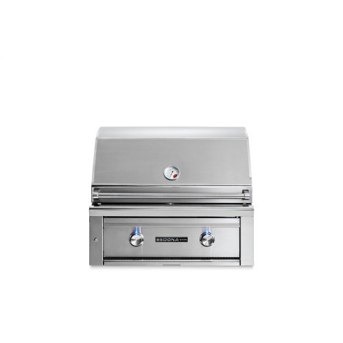 "30"" Sedona by Lynx Built In Grill with 1 Stainless Steel Burner and ProSear Burner, LP"
