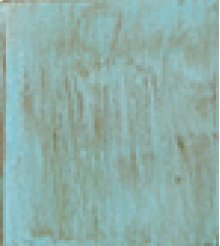 """Turquoise : 23"""" x 32"""" Reception End Table"""