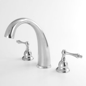200 Series Roman Tub Set with Montreal Handle (available as trim only P/N: 1.201777T)