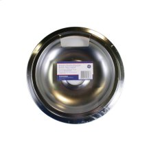 "8"" Chrome Drip Pan & Trim Ring 2-Pack"