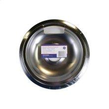 "8"" Chrome Drip Pan & Trim Ring 2-Pack"